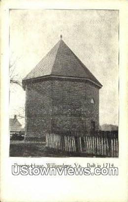 Powder House - Williamsburg, Virginia VA Postcard