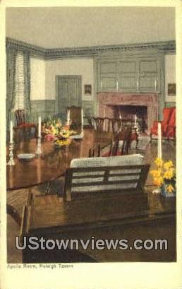 Apollo Room Raleigh Tavern  - Williamsburg, Virginia VA Postcard