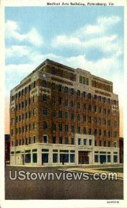 Medical Arts Building  - Petersburg, Virginia VA Postcard