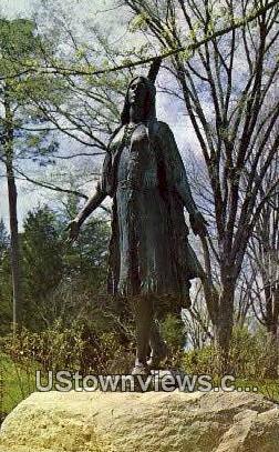 Pocahontas - Jamestown, Virginia VA Postcard