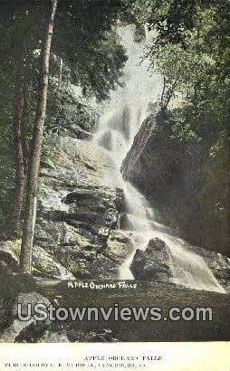 Apple Orchard Falls - Lynchburg, Virginia VA Postcard
