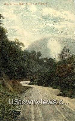 Iron Gate Gorge - Clifton Forge, Virginia VA Postcard