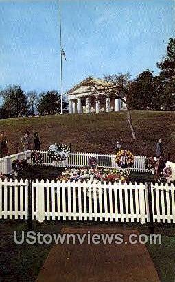 Grave Of Jfk  - Arlington, Virginia VA Postcard