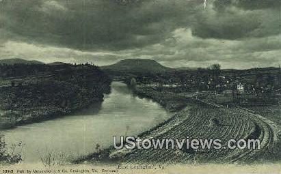 East Lexington, Virginia, VA, Postcard