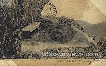 Table Rock Peaks Of Otter  - Bedford, Virginia VA Postcard