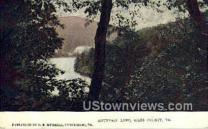 Mountain Lake Hotel  - Giles County, Virginia VA Postcard