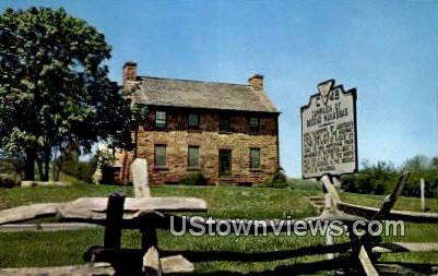 Stone House  - Manassas National Battlefield Park, Virginia VA Postcard
