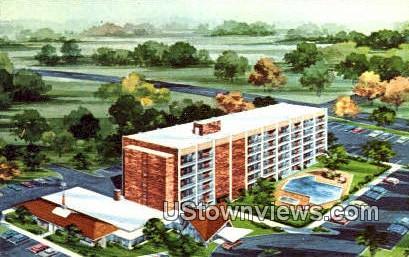 Motor Lodge And Restaurant  - Petersburg, Virginia VA Postcard
