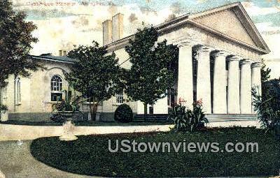 The Custis Lee Mansion  - Arlington, Virginia VA Postcard
