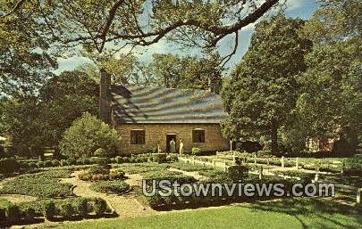 Adam Thoroghgood House  - Virginia Beach Postcards, Virginia VA Postcard