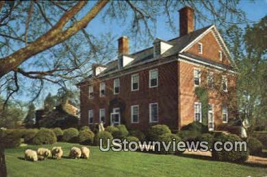 Historic Berkley Plantation  - Richmond, Virginia VA Postcard