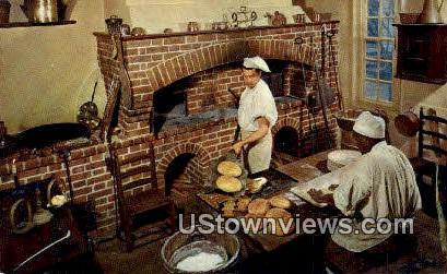 The Raleigh Bake Shop - Williamsburg, Virginia VA Postcard