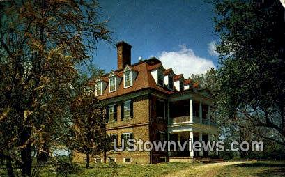 Shirley Plantation - Williamsburg, Virginia VA Postcard