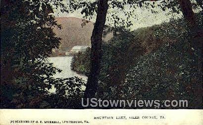 Mountain Lake - Giles County, Virginia VA Postcard