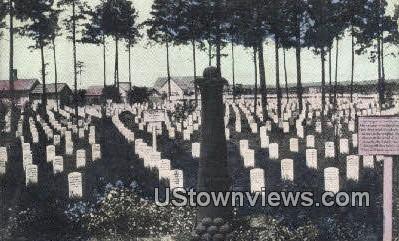 The National Cemetery - Arlington, Virginia VA Postcard