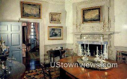 Mount Vernon Mansion - Virginia VA Postcard