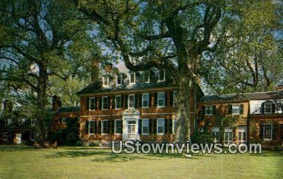Westover Plantation - Richmond, Virginia VA Postcard