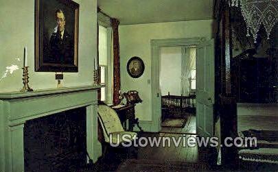 Woodrow Wilsons Birthplace - Staunton, Virginia VA Postcard
