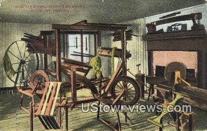 Martha Washington Spinning Room  - Mount Vernon, Virginia VA Postcard
