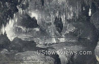 Skeleton Gorge - Luray, Virginia VA Postcard