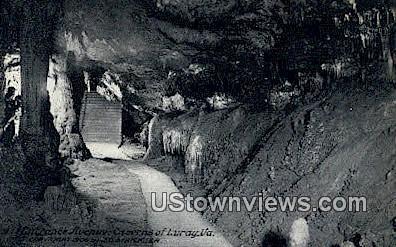 Ball Room, Cavern of Luray - Virginia VA Postcard
