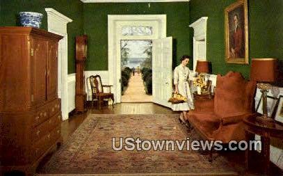 Historic Berkley Plantation  - Williamsburg, Virginia VA Postcard