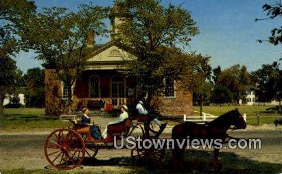 Couthouse of 1770 - Williamsburg, Virginia VA Postcard