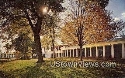 Thomas Jefersons Academical Village - Charlottesville, Virginia VA Postcard