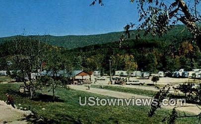 Deer Trail Park Family Campground - Wytheville, Virginia VA Postcard