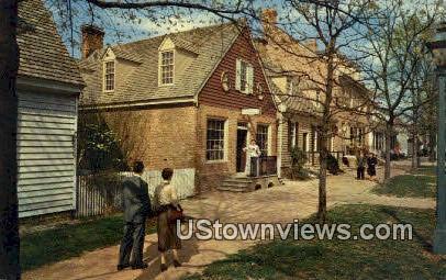 Margaret Hunter Shop - Williamsburg, Virginia VA Postcard