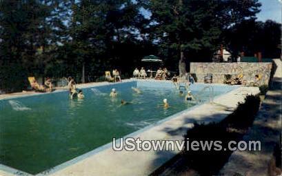 Shenandoah River Lodge - Luray, Virginia VA Postcard