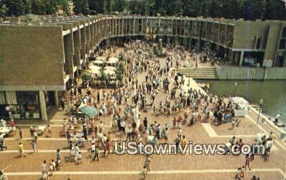 Washington Plaza - Reston, Virginia VA Postcard