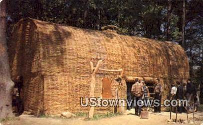 Powhatans Grave  - Jamestown, Virginia VA Postcard