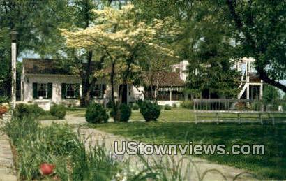 Little Tea House - Arlington, Virginia VA Postcard