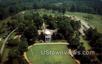 Thomas Jefersons Home, Monticello - Charlottesville, Virginia VA Postcard