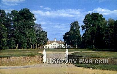 From Bowling Green Gate - Mount Vernon, Virginia VA Postcard