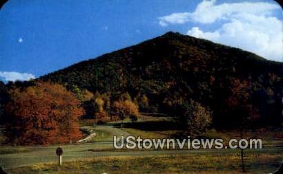 Sharp Top on of Peaks of Otter 3875 Ft. - Bedford, Virginia VA Postcard