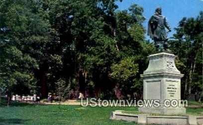 Statue of Capt. Johjn Smith - Jamestown, Virginia VA Postcard