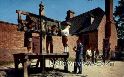 Public Gaol  - Williamsburg, Virginia VA Postcard