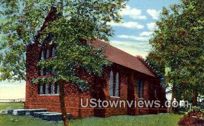 Church - Jamestown, Virginia VA Postcard