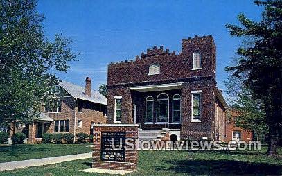 First Baptist Church  - South Hill, Virginia VA Postcard