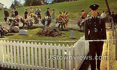 John F Kennedy Grave - Arlington, Virginia VA Postcard