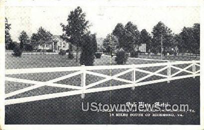 Old View Motel - Richmond, Virginia VA Postcard