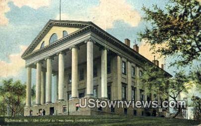 Old Capitol  - Richmond, Virginia VA Postcard