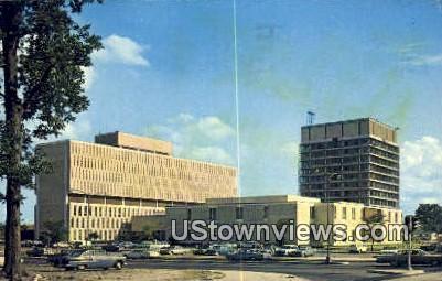 New City Hall Square  - Norfolk, Virginia VA Postcard