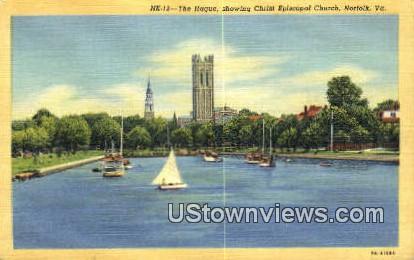 The Hague  - Norfolk, Virginia VA Postcard