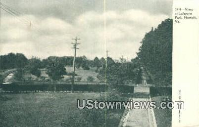 View Of Lafayette Park  - Norfolk, Virginia VA Postcard