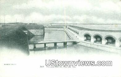 Fortress Monroe - Norfolk, Virginia VA Postcard