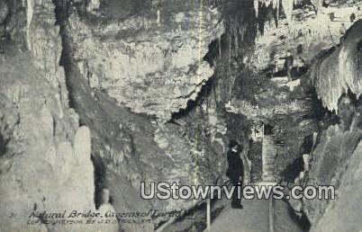 Natural Bridge Caverns - Virginia VA Postcard