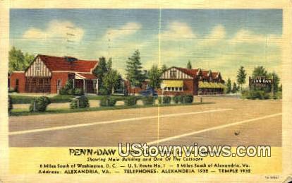 Penn Daw  - Alexandria, Virginia VA Postcard